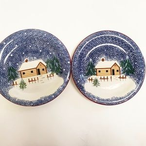 Other - Pair of Christmas Plates